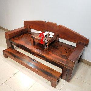 老船木罗汉床家具中式复