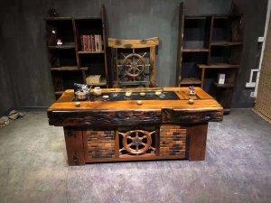 定做老船木家具沙发,办公台,餐桌,吧台需要注意哪些要素?