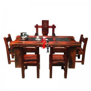 客厅休闲系列老船木茶桌图片款介绍推荐