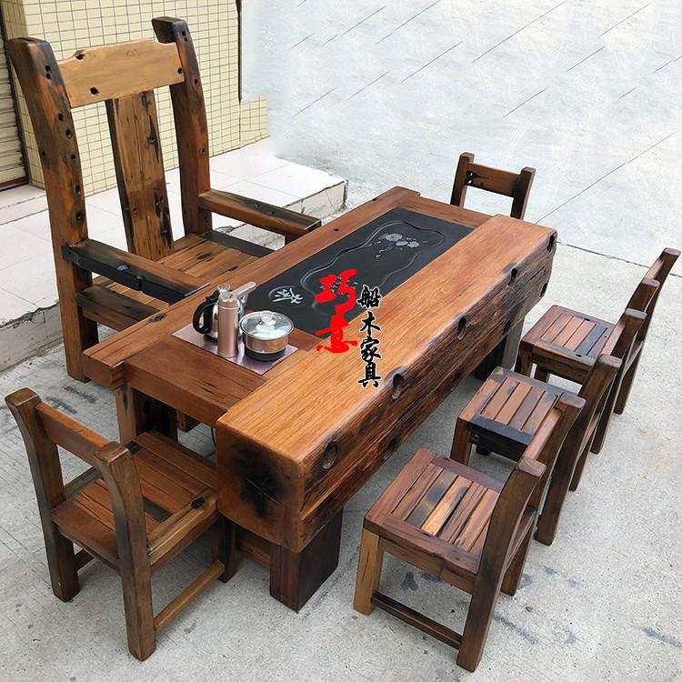 老船木茶桌31